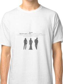 SwanFireQueen + Parents definition Classic T-Shirt
