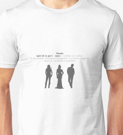 SwanFireQueen + Parents definition Unisex T-Shirt