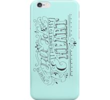 Hand Drawn Quote iPhone Case/Skin