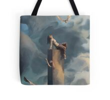 Among Clouds Tote Bag