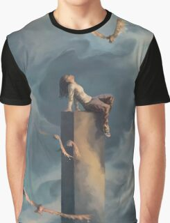 Among Clouds Graphic T-Shirt