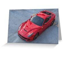 Ferrari F12 Greeting Card
