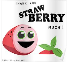 Thank You Strawberry Much! Poster