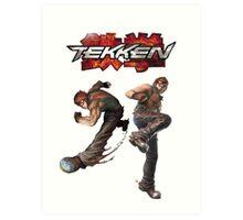 Tekken-Howoarang Art Print