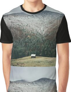 Snowy Home Graphic T-Shirt