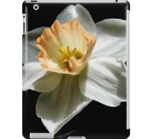 Daffodil and  Black Satin iPad Case/Skin