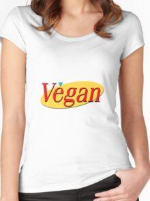 Seinfeld Vegan  Women's Fitted Scoop T-Shirt