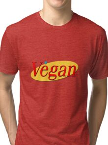 Seinfeld Vegan  Tri-blend T-Shirt