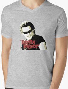 Death Proof Mens V-Neck T-Shirt