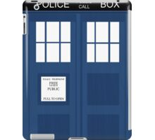 The Tardis iPad Case/Skin