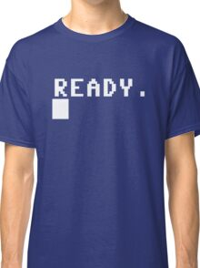 Commodore 64 - C64 - Ready. Classic T-Shirt