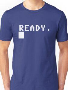 Commodore 64 - C64 - Ready. Unisex T-Shirt