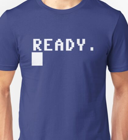 Commodore 64 - C64 - Ready. Unisex T-Shirt