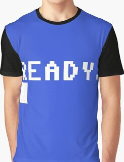 Commodore 64 - C64 - Ready. Graphic T-Shirt