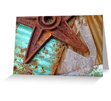 Ice And Rust Greeting Card