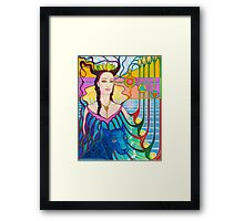 Spirit Guide ~ Selmutee of Lemuria Framed Print