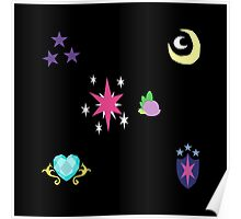 My little Pony - Sparkle Family Cutie Mark Special Poster