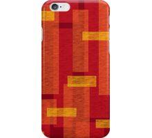 Flame bricks iPhone Case/Skin