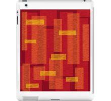 Flame bricks iPad Case/Skin