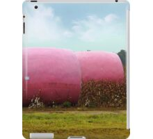 The Breast Cancer Awareness Pink Cotton Bales iPad Case/Skin