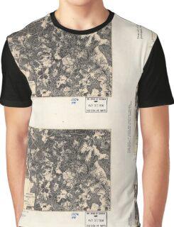 Civil War Maps 1700 Spotsylvania May 8-21 1864 Graphic T-Shirt