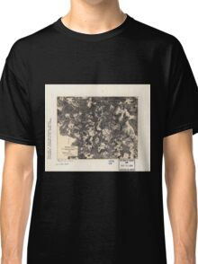 Civil War Maps 1700 Spotsylvania May 8-21 1864 Classic T-Shirt