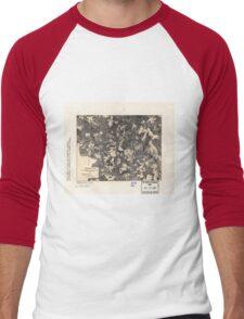 Civil War Maps 1700 Spotsylvania May 8-21 1864 Men's Baseball ¾ T-Shirt