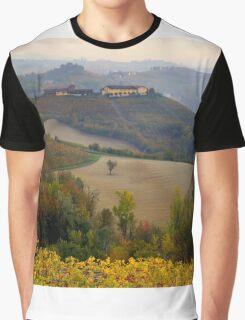 Langhe hills Graphic T-Shirt