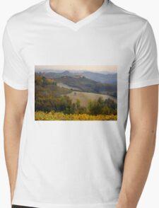 Langhe hills Mens V-Neck T-Shirt