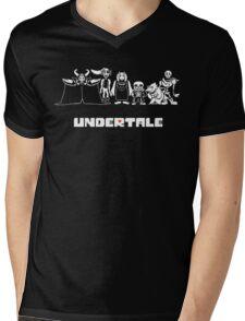 Undertale Family Mens V-Neck T-Shirt