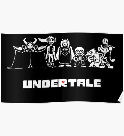 Undertale Family Poster