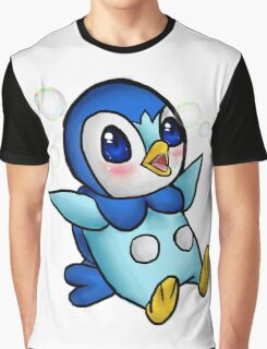 Adorable Piplup! Graphic T-Shirt