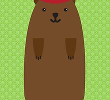 Happy Groundhog's Day » Arsenical Green Wallpaper by tinyflyinggoats