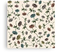 Flowers Flower Nature Botanical Canvas Print