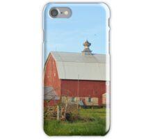 Reed Avenue Barn iPhone Case/Skin