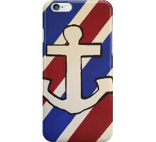 Striped Anchor  iPhone Case/Skin