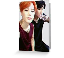 BTS Jikook  Greeting Card