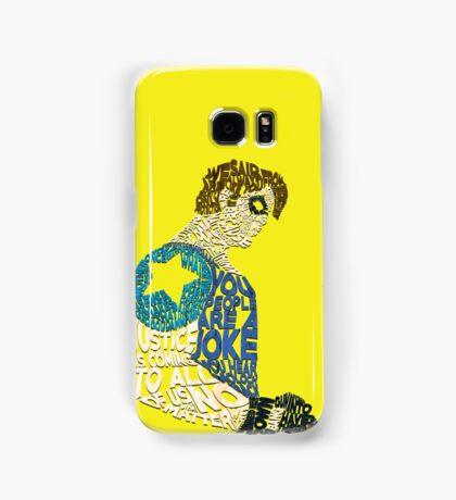 Watchmen - The Comedian - Typography  Samsung Galaxy Case/Skin