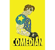 Watchmen - The Comedian - Typography  Photographic Print