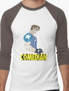 Watchmen - The Comedian - Typography  Men's Baseball ¾ T-Shirt