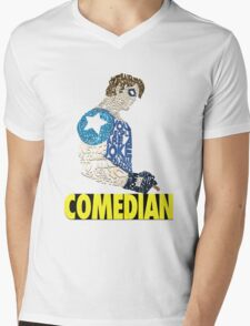 Watchmen - The Comedian - Typography  Mens V-Neck T-Shirt