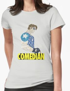 Watchmen - The Comedian - Typography  Womens Fitted T-Shirt
