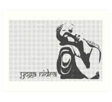 Yoga Nidra - Buddha Graphic Art Print