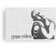 Yoga Nidra - Buddha Graphic Metal Print