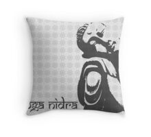 Yoga Nidra - Buddha Graphic Throw Pillow