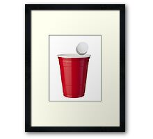 Solo Cup Framed Print