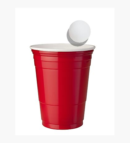Solo Cup Photographic Print