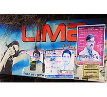 Roadside Advertising  Photographic Print