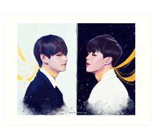 BTS Vmin Art Print
