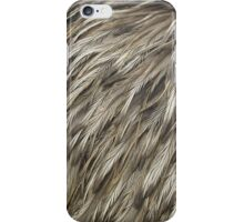 Brown feathers iPhone Case/Skin